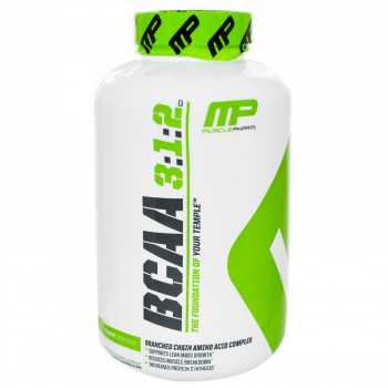 MusclePharm BCAA 3:1:2 | 750 мг 240 капсули