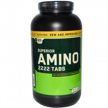 Optimum Nutrition Superior Amino 2222 160/320 таблетки