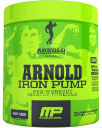 MusclePharm Arnold Series Iron Pump 180 гр | 30 дози