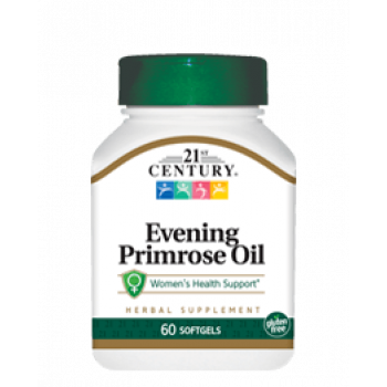 Evening Primrose Oil Standardized 500 мг 60 гел-капсули | 21st Century