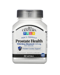 Prostate Health with Beta-Sitosterol 125 мг 60 гел-капсули | 21st Century