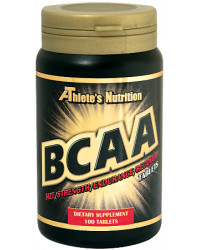 BCAA 1000 мг 100 таблетки I Athlete's Nutrition