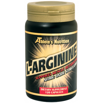 L-Arginine 500 mg 120 capsules I Athlete's Nutrition