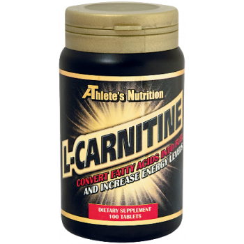L-Carnitine 1000 mg 100 tablets I Athlete's Nutrition