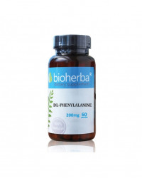 DL-Phenylalanine 200 мг 60 капсули | Bioherba
