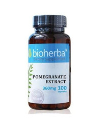 Pomerganate Extract 360 мг 60 капсули | Bioherba