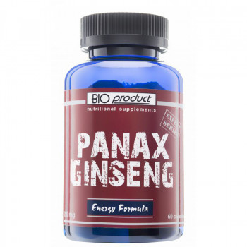 Жен шен - Panax Ginseng 250мг 60 таблетки Bioproduct Nutritional Supplements