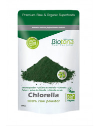 Chlorella 100% Raw Powder 200 gr BioTona