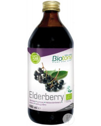 Elderberry Organic Concentrated Juice 500 ml BioTona