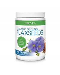 Ground Flaxseeds (Organic) 392 гр | Biovea