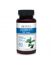 Pygeum for men 100 мг 60 гел-капсули | Biovea