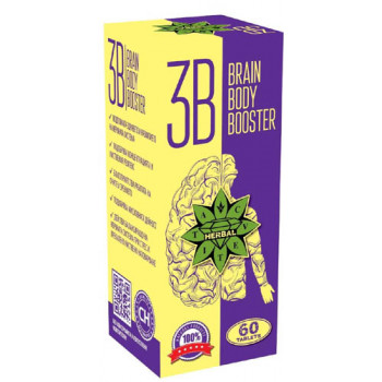 Brain Body Booster 60 таблетки | Cvetita Herbal