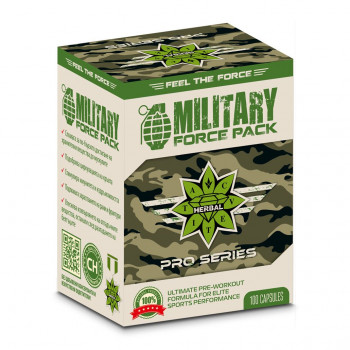 Military Force Pack 40/100 капсули | Cvetita Herbal