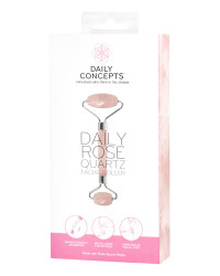 Daily Rose Quartz Facial Roller | Daily Concepts