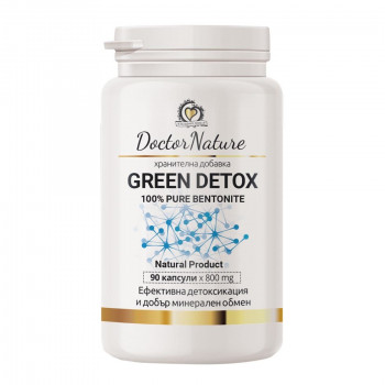 Green Detox 800 мг 90 капсули | Doctor Nature