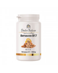 Vitamin B17 100 мг 60 капсули | Doctor Nature