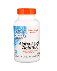 Alpha-Lipoic Acid 300 300 мг 180 веге капсули | Doctor's Best
