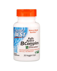 Fully Active B Complex 30 веге капсули | Doctor's Best