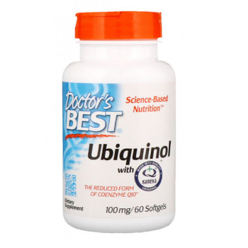 Best Ubiquinol CoQH 100 mg 60 Softgels | Doctor`s Best