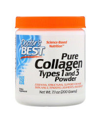Pure Collagen Types 1 and 3 прах 200 гр | Doctor's Best