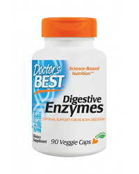 Digestive Enzymes 90 Veggie Caps Doctor`s Best