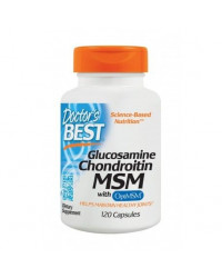 Glucosamine Chondroitin MSM with OptiMSM 120/240 капсули | Doctor's Best