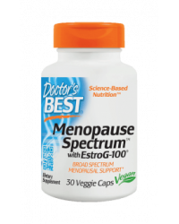 Menopause Spectrum With Estrog-100 30 веге капсули | Doctor's Best