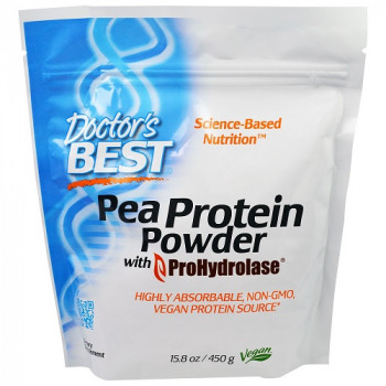 Pea Protein Powder 450 gr I Doctor`s Best