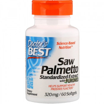 Saw Palmetto Standardized Extract 320 мг 60 гел-капсули | Doctor's Best