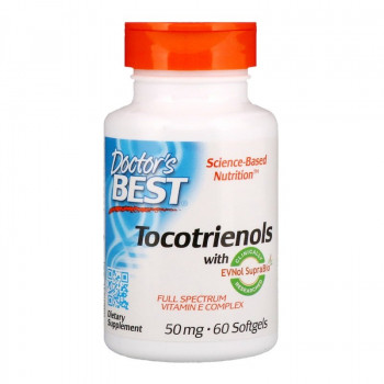 Tocotrienols 50 мг 60 гел-капсули | Doctor's Best