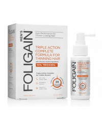 Men's Triple Action Complete Formula for Thinning Hair 10% Trioxidil 59 мл   Foligain