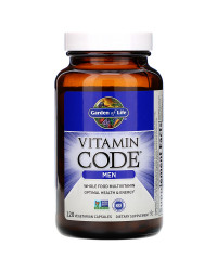 Vitamin Code Whole Food Multivitamin for Men 120 капсули | Garden Of Life