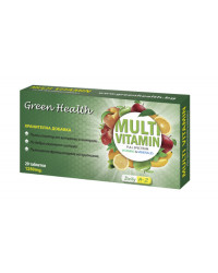 MultiVitamin Full Spectrum 1250 mg 20 tablets | Green Health