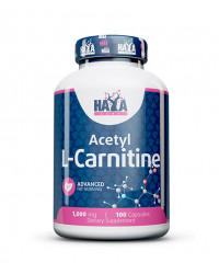 Acetyl L-Carnitine 1000 мг 100 капсули | Haya Labs