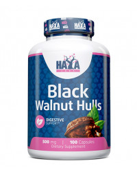 Black Walnut Hulls 500 мг 100 капсули | Haya Labs