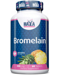 Bromelain Natural Enzyme 500 мг 60 таблетки | Haya Labs