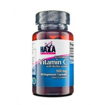 Buffered Vitamin C with Bioflavonoids 500 мг 60 капсули I HAYA LABS