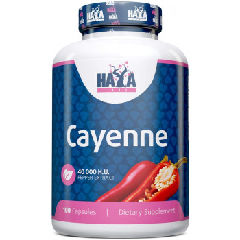 Cayenne Pepper Extract 500 мг 100 капсули   Haya Labs