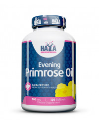 Evening Primrose Oil (Cold Pressed) 500 мг 120 гел-капсули | Haya Labs