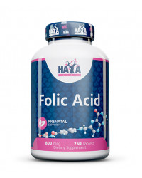 Folic Acid 800 мкг 250 таблетки | Haya Labs
