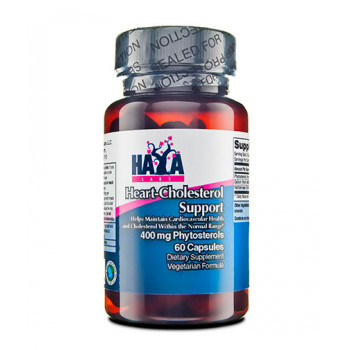 Heart - Cholesterol Support / Phytosterols 400 мг 60 капсули I HAYA LABS