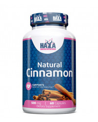 Natural Cinnamon 500 мг 60 капсули | Haya Labs