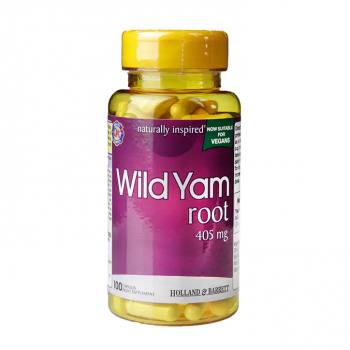Wild Yam Root 405 мг 100 капсули   Holland & Barret