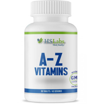 A-Z Vitamins 90 tablets | HS Labs