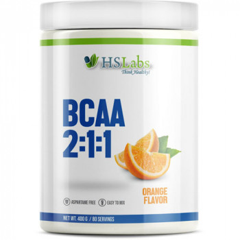 BCAA 2:1:1 ORANGE 200/400 g | HS Labs