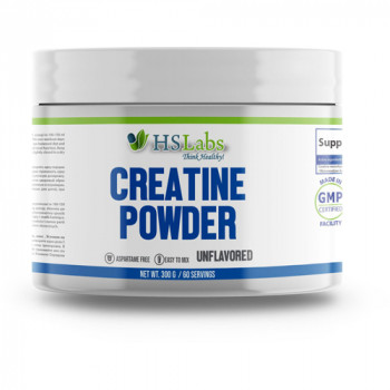 Creatine Powder - Unflavored 300/500 g | HSLabs