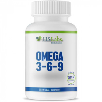 Omega 3-6-9 90 softgels | HS Labs