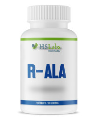 R - Alpha Lipoic Acid 100 mg 90 tablets | HS Labs