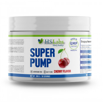 Super Pump CHERRY 30/50 servings | HS Labs