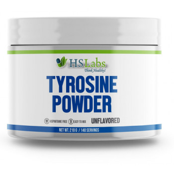 Tyrosine Powder UNFLAVORED 210 gr | HS Labs